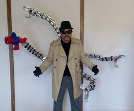 Doctor Octopus Costume on the Cheap!