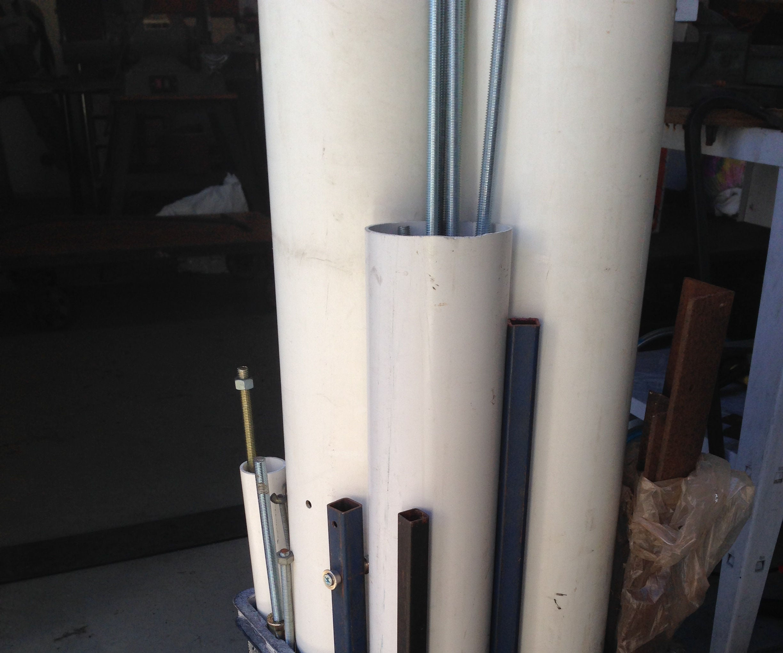 Small Vertical Storage Rack