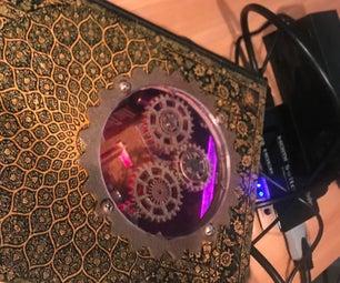 Steampunk Raspberry Pi Console/Case