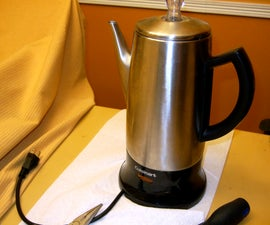 Repairing a Cordless Electric Percolator (similar to an Electric Kettle)