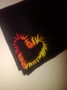 Simple Embroidery - Backlit Effect