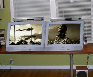 How to Make a DIY Widescreen TV in 5 Minutes!!