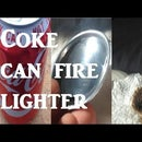 Parabolic Mirror Drinks Can Fire Starter