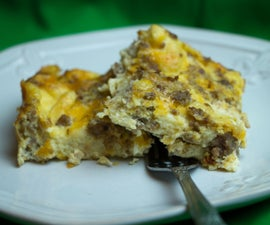 Egg Casserole with Sausage
