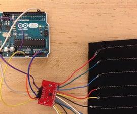 Conductive Thread Touch Sensor
