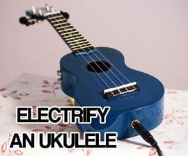 Electric Ukulele With Tone Controls