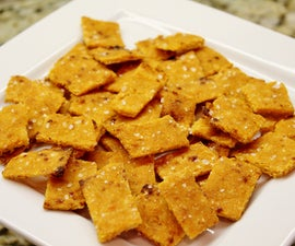 Sweet Potato Crackers (gluten/grain free)