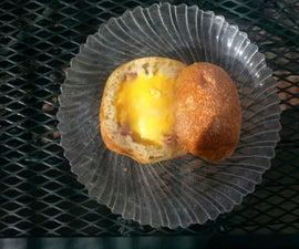 Campfire Ham, Egg & Cheese Bread Bowl