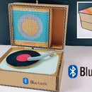 Making Bluetooth phonograph sound from cardboard