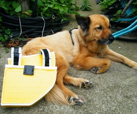 Duct Tape Dog Panniers