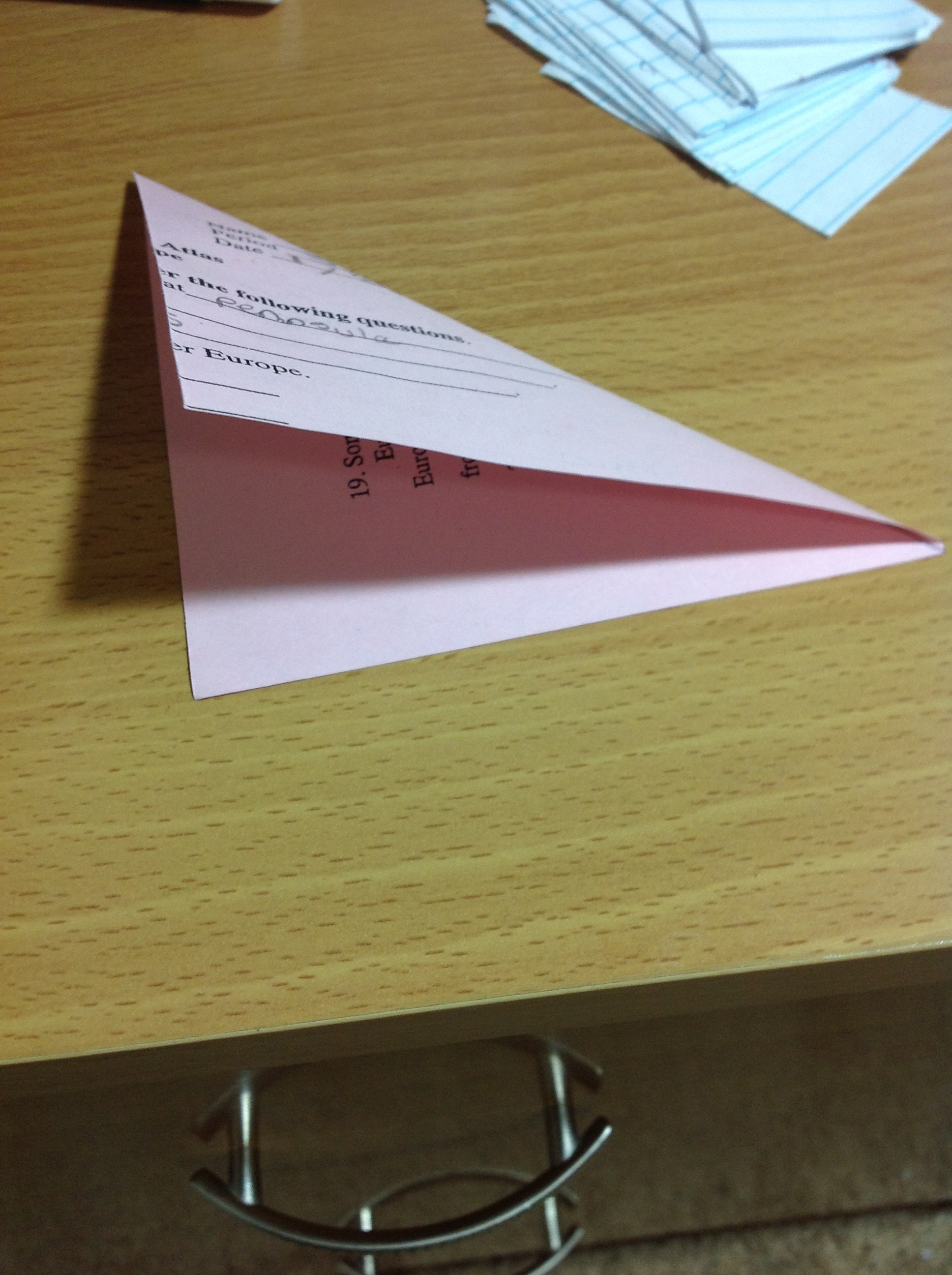 Picture of Fold in Half Diagonally