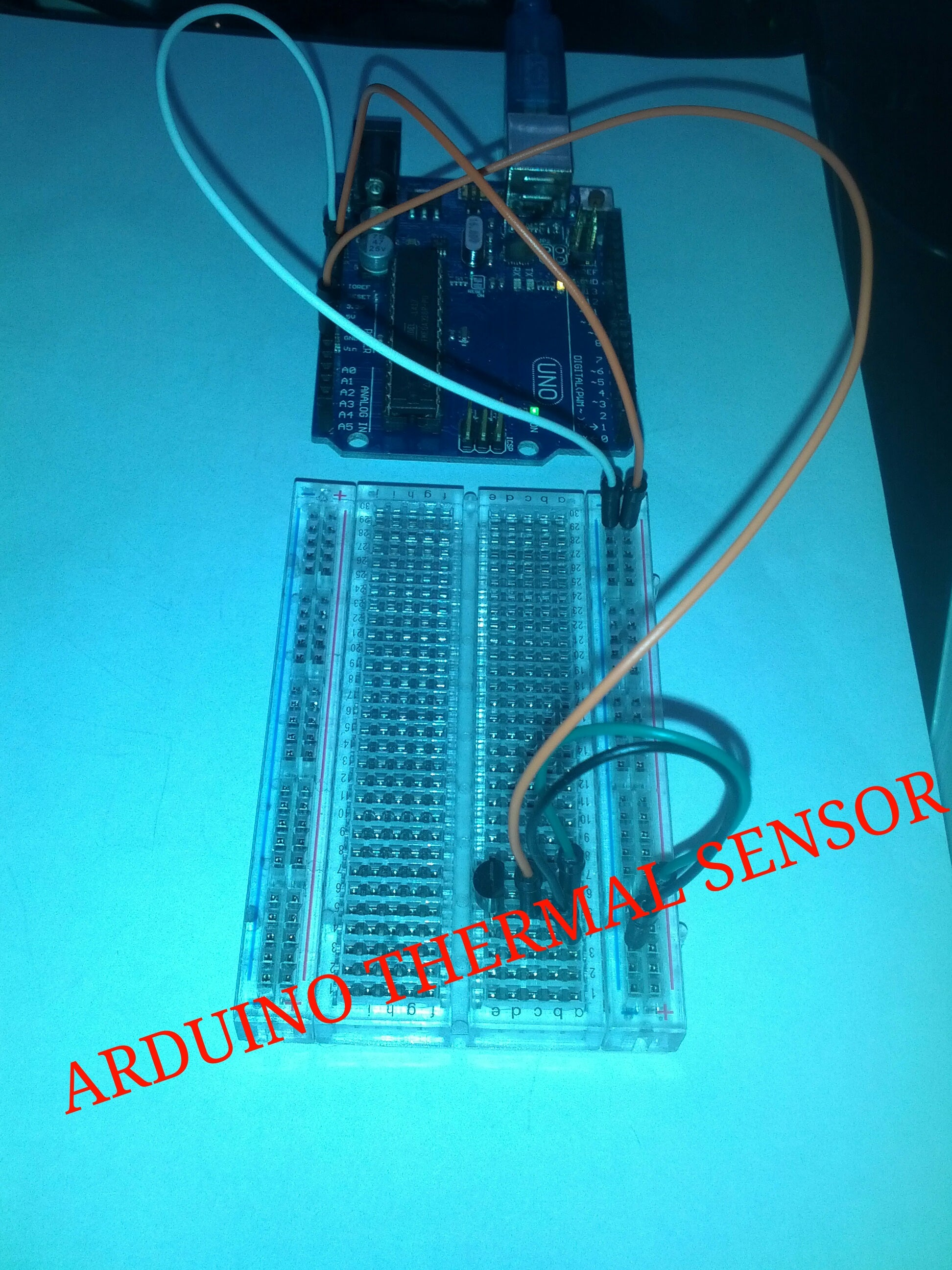 Build an Arduino Powered Thermal Sensor!: 6 Steps