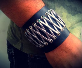Stylish Unisex Bracelet using car inner tube