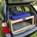 Lofted Van Bed With TV