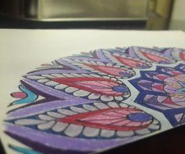 How to Make Mandala Art