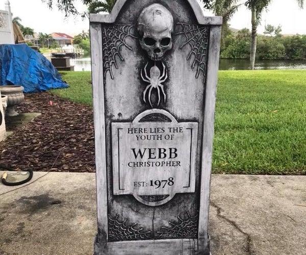 Halloween Tombstones!