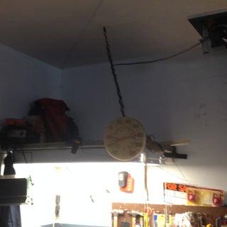 Over Garage Door Hidden Shelving