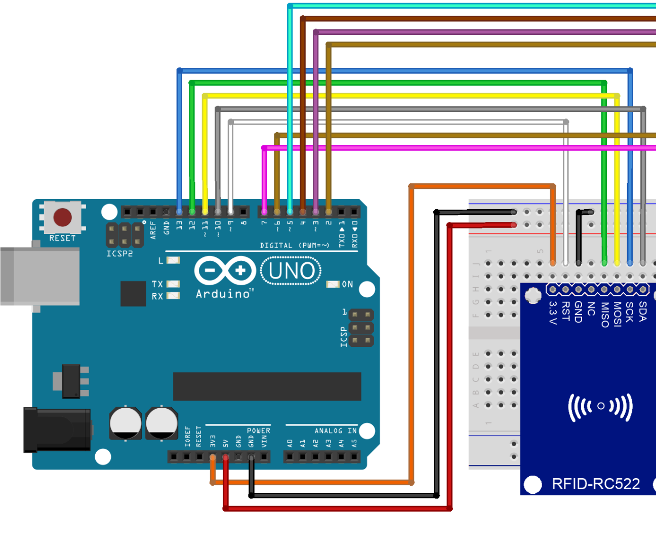 Arduino Rfid Read and Write on Lcd: 4 Steps