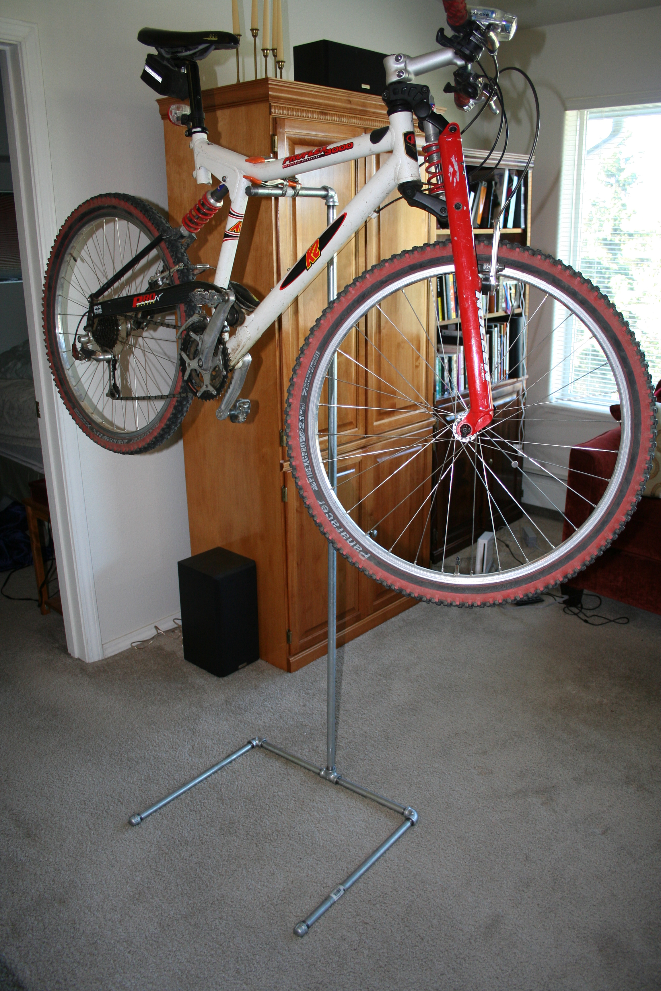 Diy Bicycle Repair Stand 9 Steps With Pictures