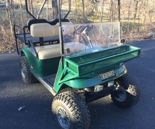 Golf Cart Cargo Box