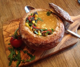 The Edible Bread Bowl
