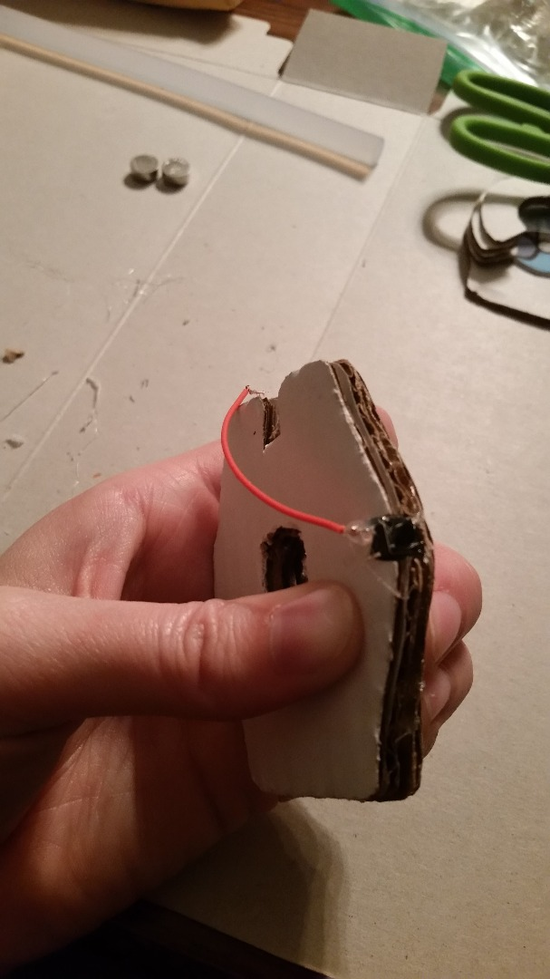 Picture of Secure the Positive Wire