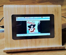 Raspberry Pi Media Player and Work Station With an Integrated Speaker
