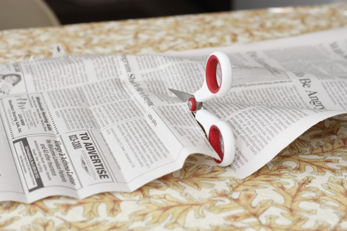 Picture of Cut and Fold Newspapers