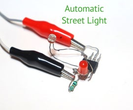 How to Make Automatic Street Light Using LM555 IC
