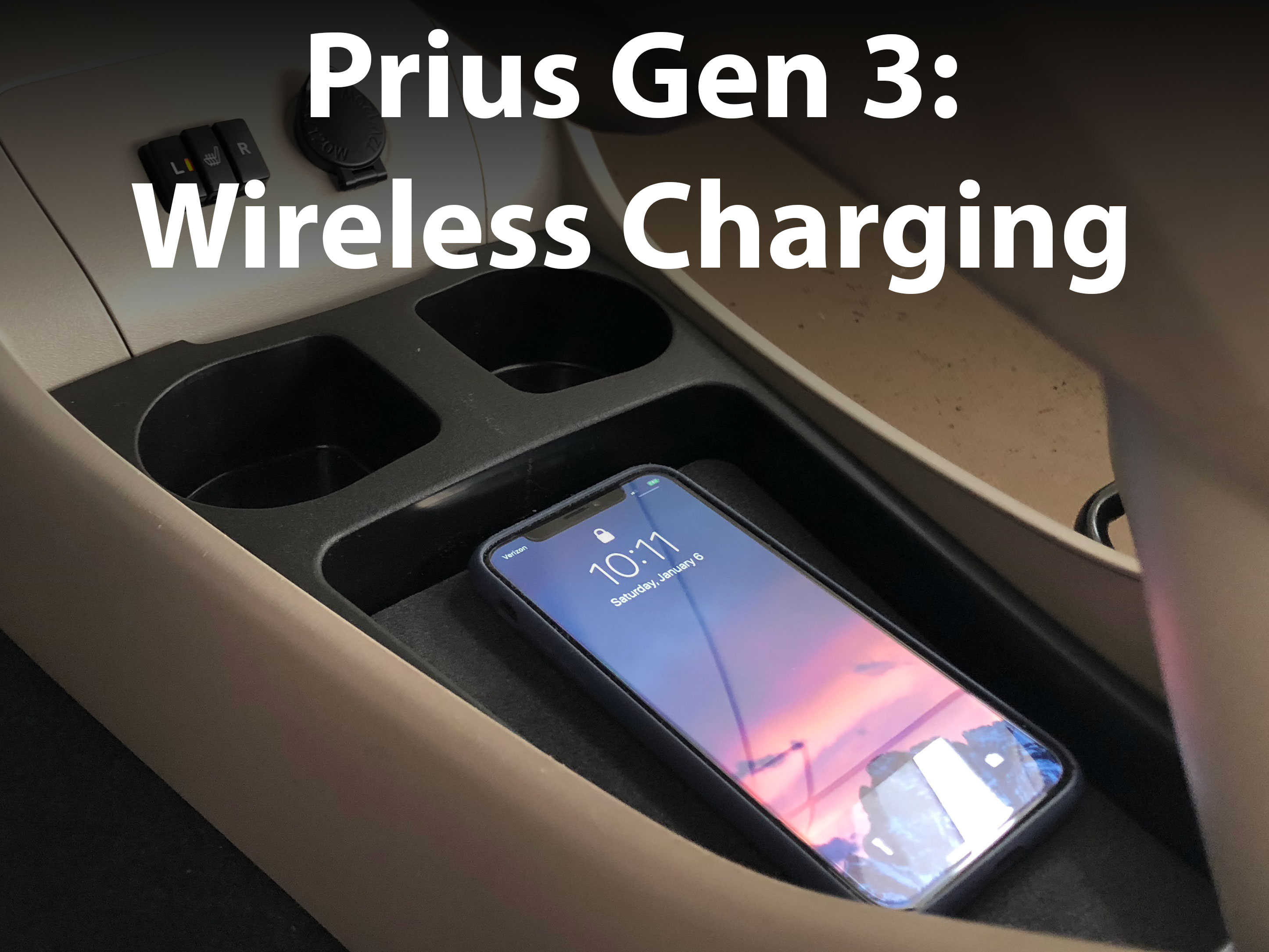 Picture of Toyota Prius Gen 3  - Qi Wireless Charging