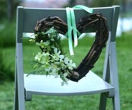 Rustic Wedding DIY Hanging Heart
