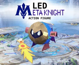 LED Meta Knight Action Figure