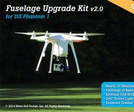 Fuselage Upgrade Kit 2.0 for DJI Phantom 1
