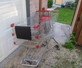 Shopping Cart Bike Trailer