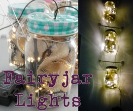 Corner Fairyjar Lights