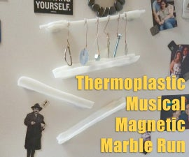 InstaMorph Magnetic Musical Marble Run