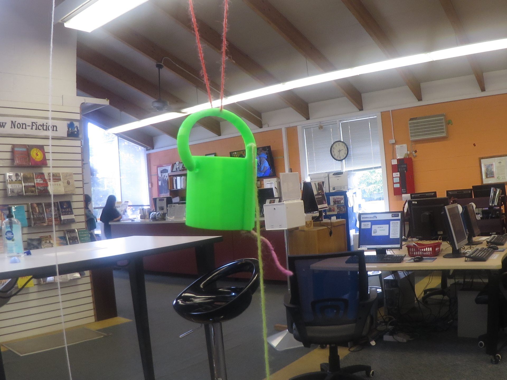 Picture of 3D Printed Parachute Drop Bucket