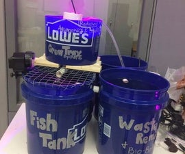 20-Gallon Aquaponics System With Arduino Monitoring