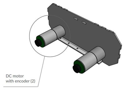 Assemble the Two Other Motors to the Right Plate