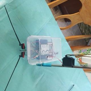 Telepresence Robot: Collision Switch