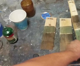 Make your own Iron Acetate/Homemade Stain