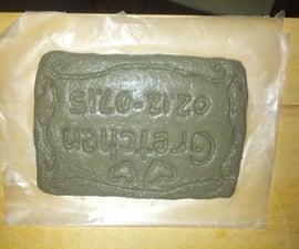 ShapeCrete Pet Grave Marker