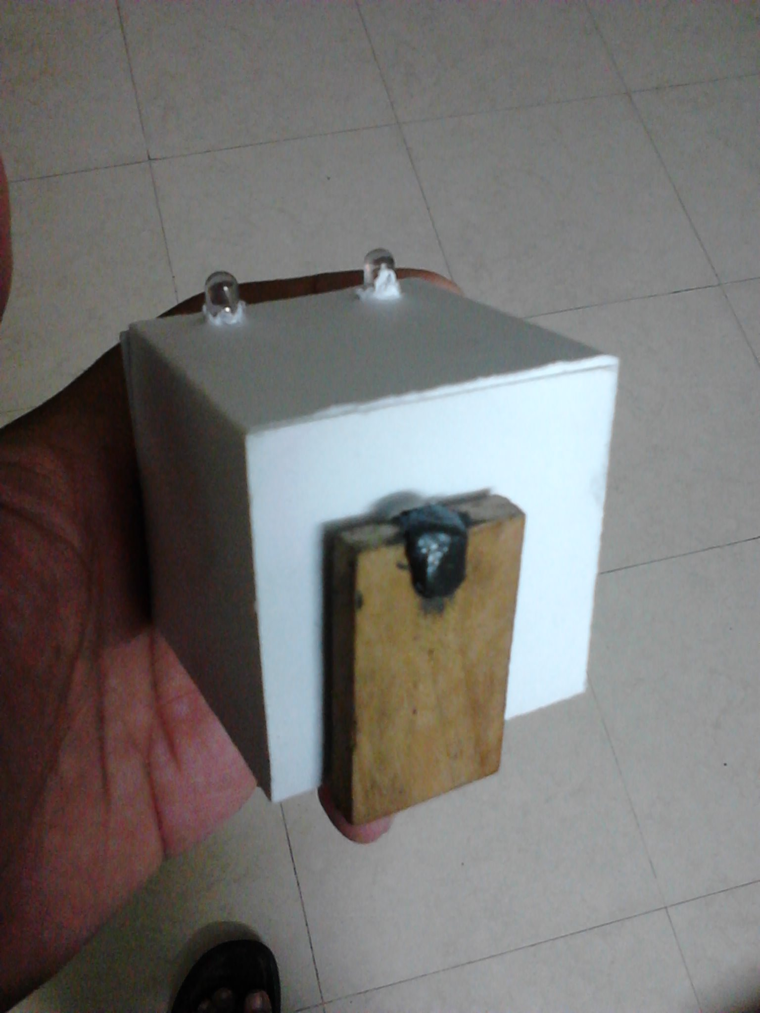 Picture of Hand Crank Desktop Toyorch From Junk Around the House