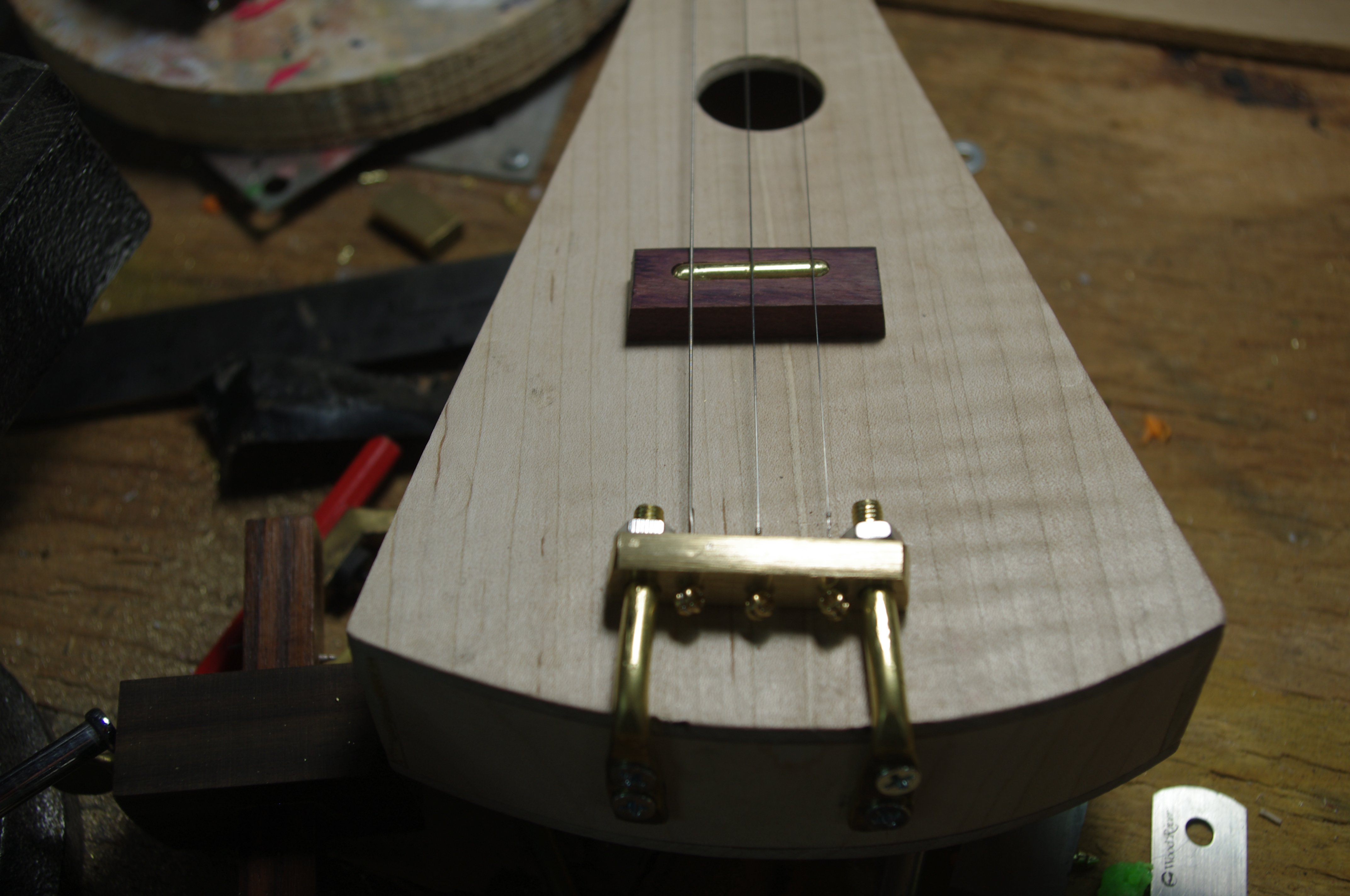 Picture of Machine the Trapeze Tailpiece Bar