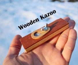 Wooden Kazoo [Giveaway]