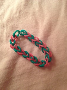 Simple Rubber Band Braclet