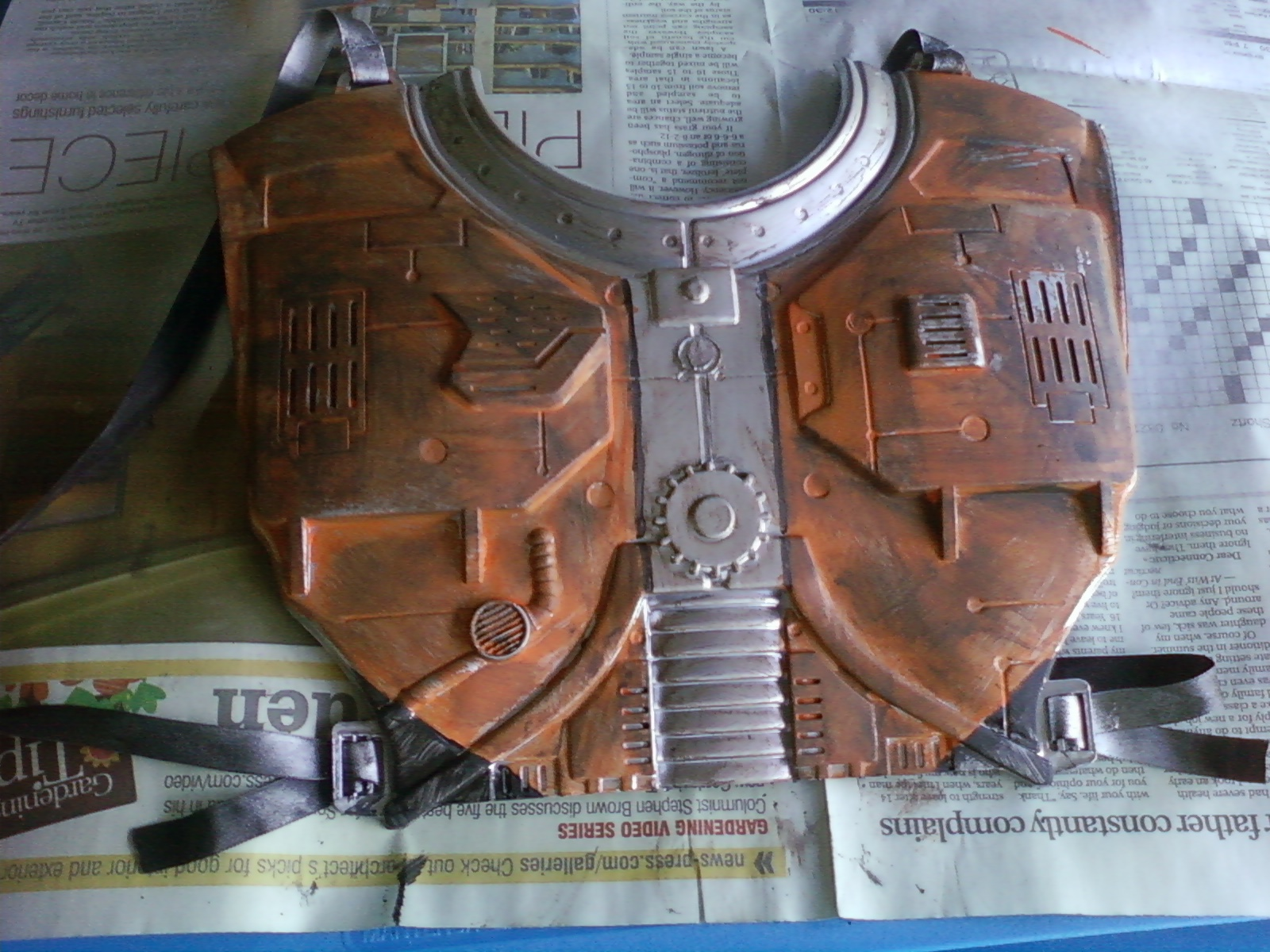 Picture of Chest Piece and Shoulders
