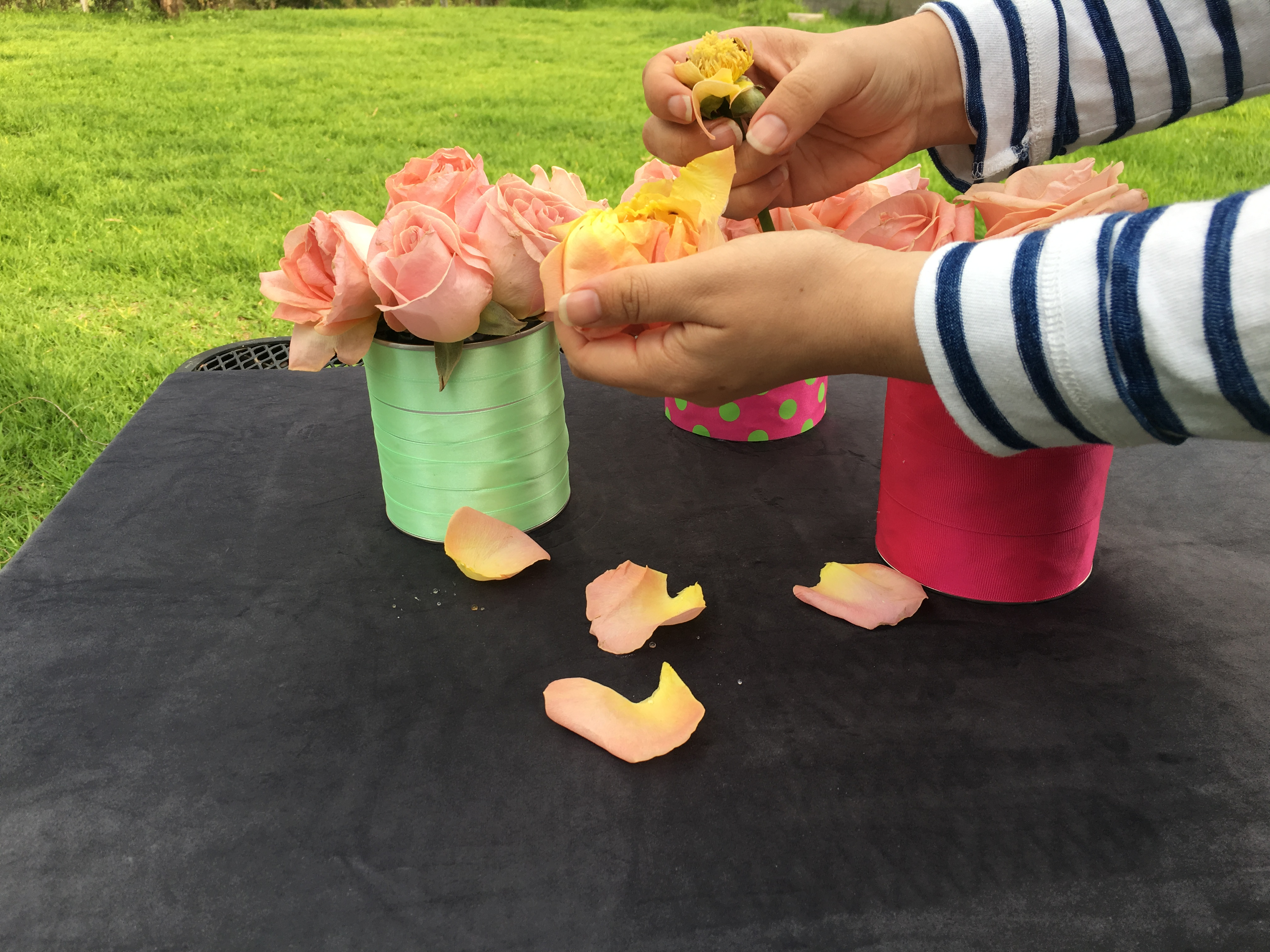 Picture of Use Petals to Decorate