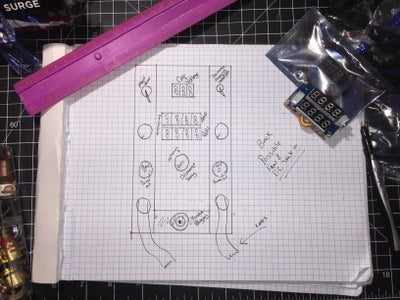 Draw Up the Schematics on the Wiring and Build.