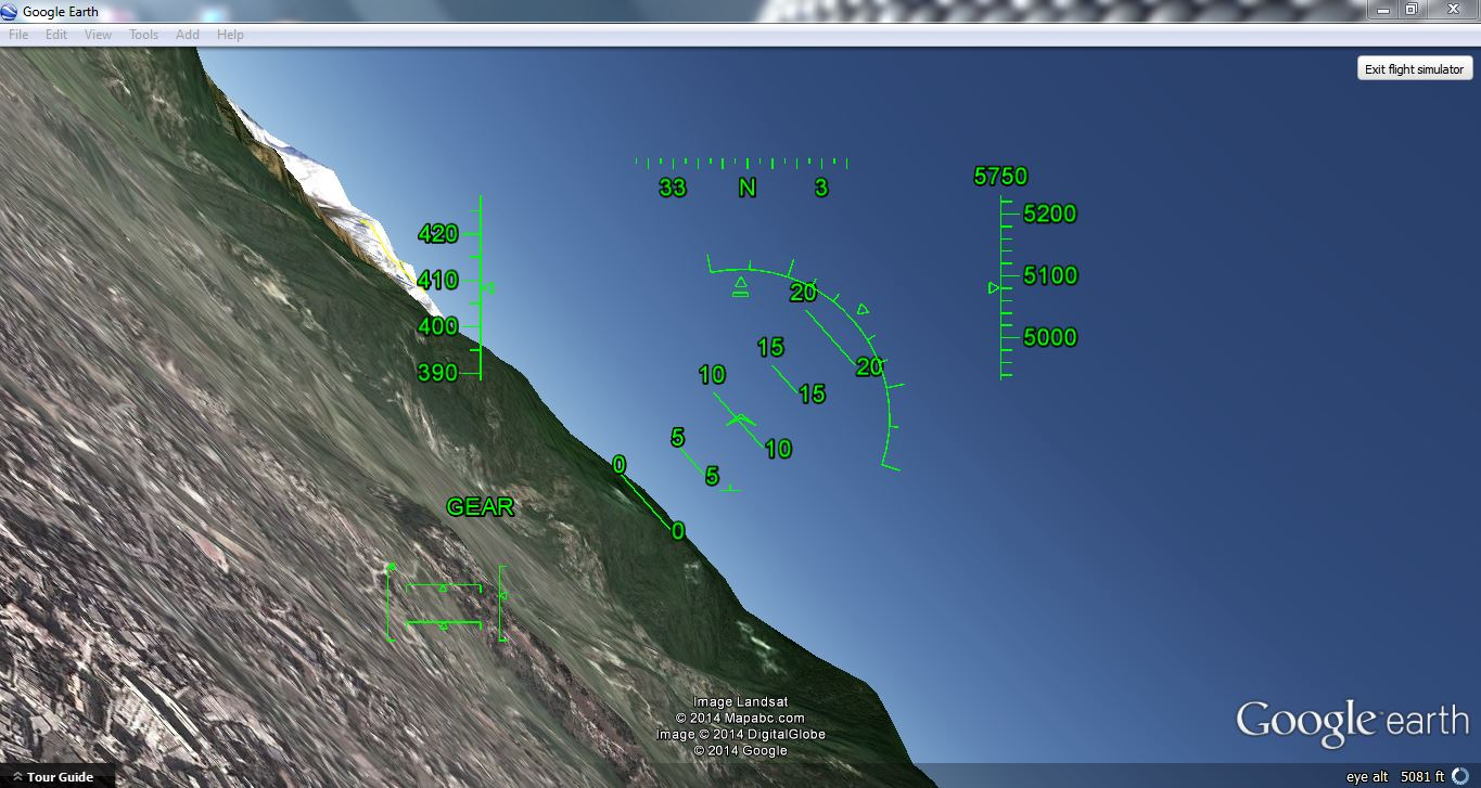 Picture of Custom Controls for Google Earth Flight Simulator